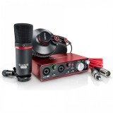 پکیج استودیوییFocusrite Scarlett 2i2 Studio Bundle G2